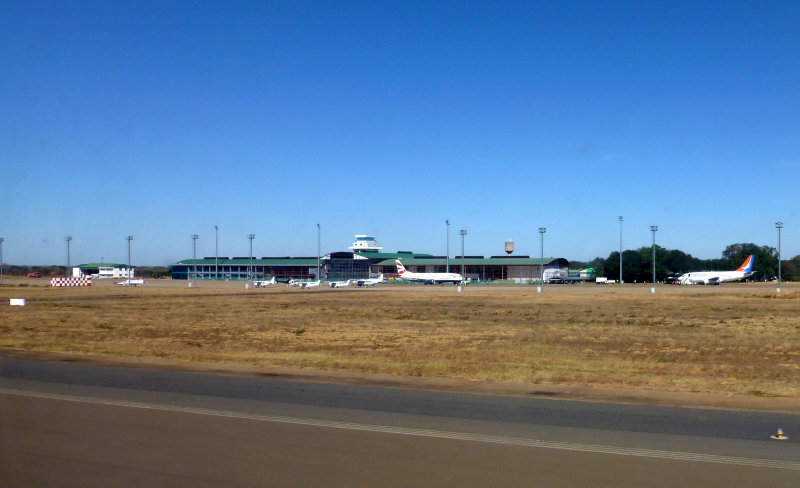 Harry Mwanga Nkumbula International Airport, Livingstone, Zambia
