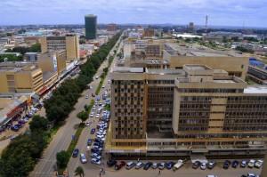 Lusakas Cairo Road