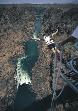 Bungee Jumping Locations And Companies Operators In Zambia